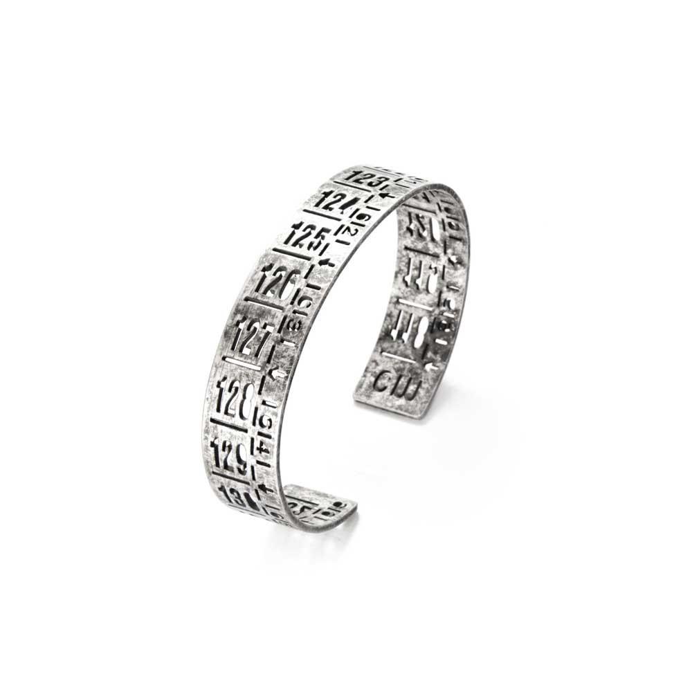 Bracciale in metallo J-Little old silver