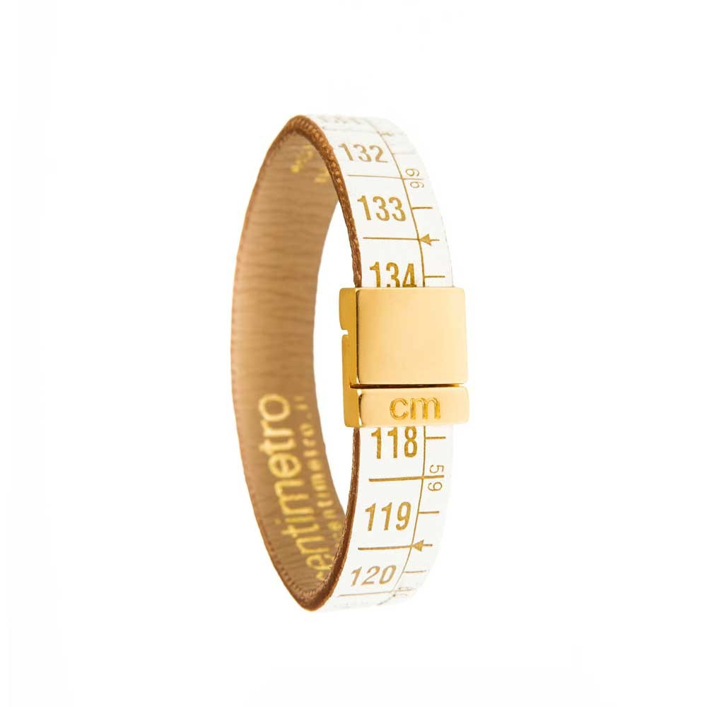Bracciale in pelle Little Queen Gold