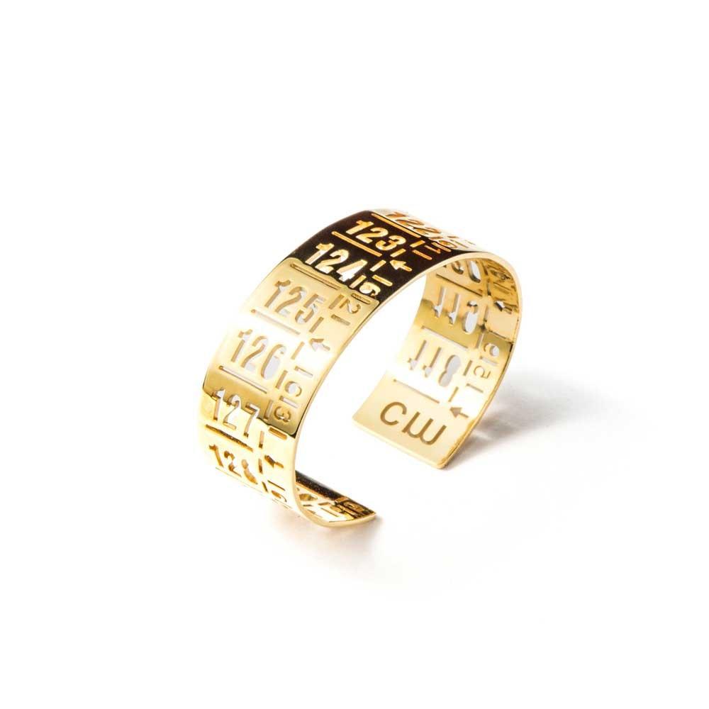 Bracciale in metallo J-Classic Gold