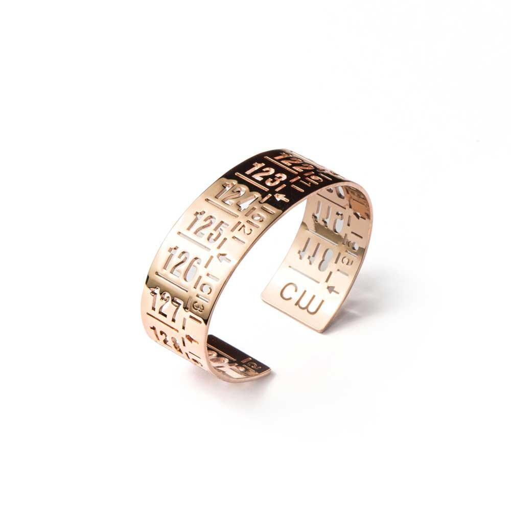 Bracciale in metallo J-Classic Rose Gold