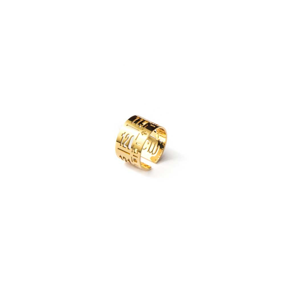 Anello in metallo  J-Ring Gold