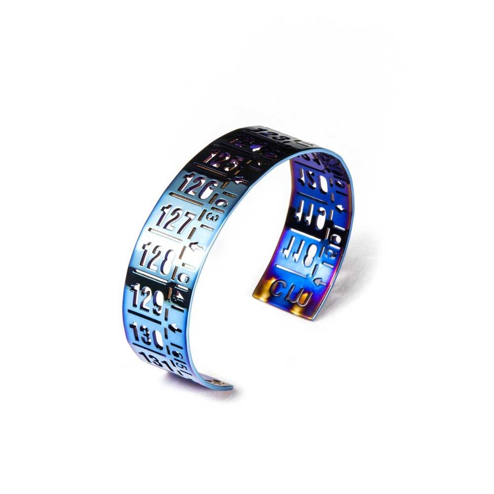 Bracciale in metallo J-Classic Flash Blue