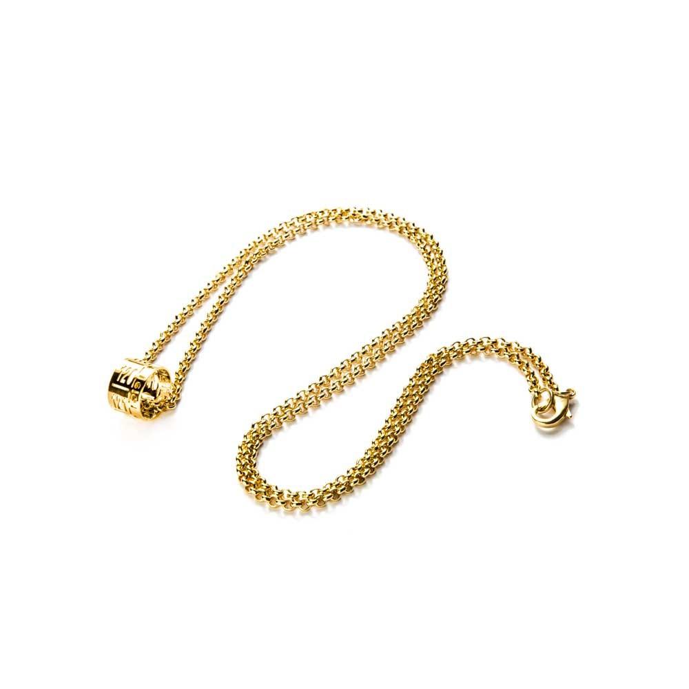 Collana con ciondolo J-Lace oro