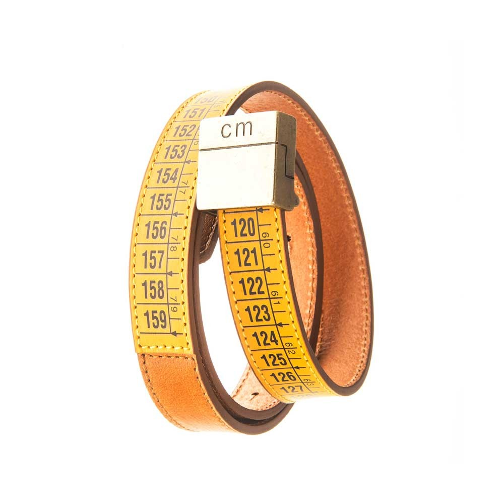 Cintura in pelle Lowerbelt Classic Yellow