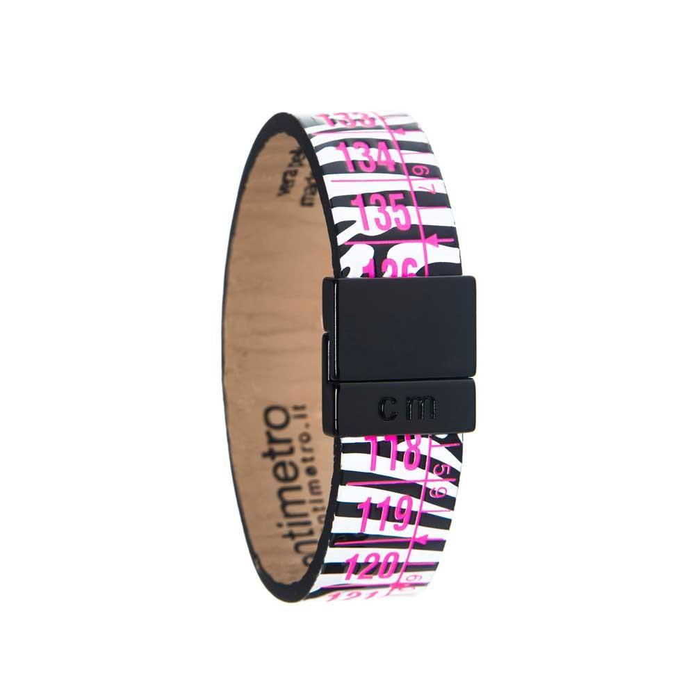 Bracciale in pelle WildGlam Zebra