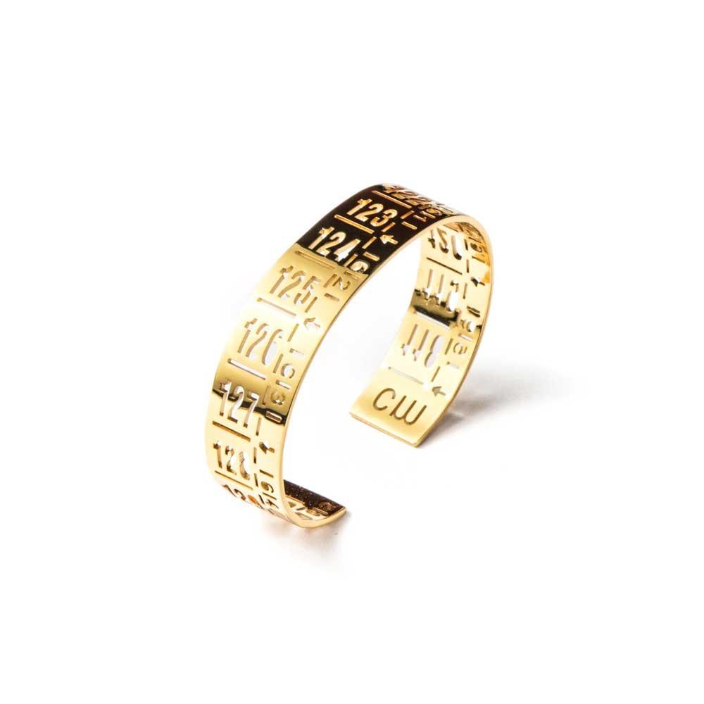 Bracciale in metallo J-Little Gold