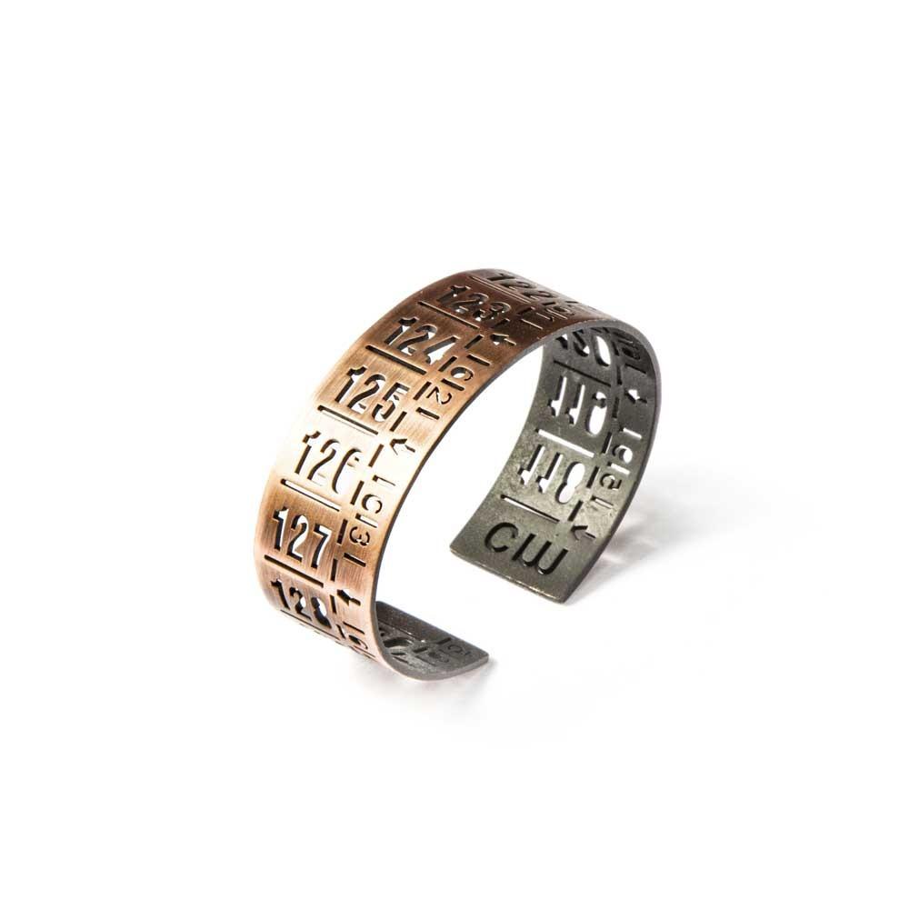 Bracciale in metallo J-Classic old copper