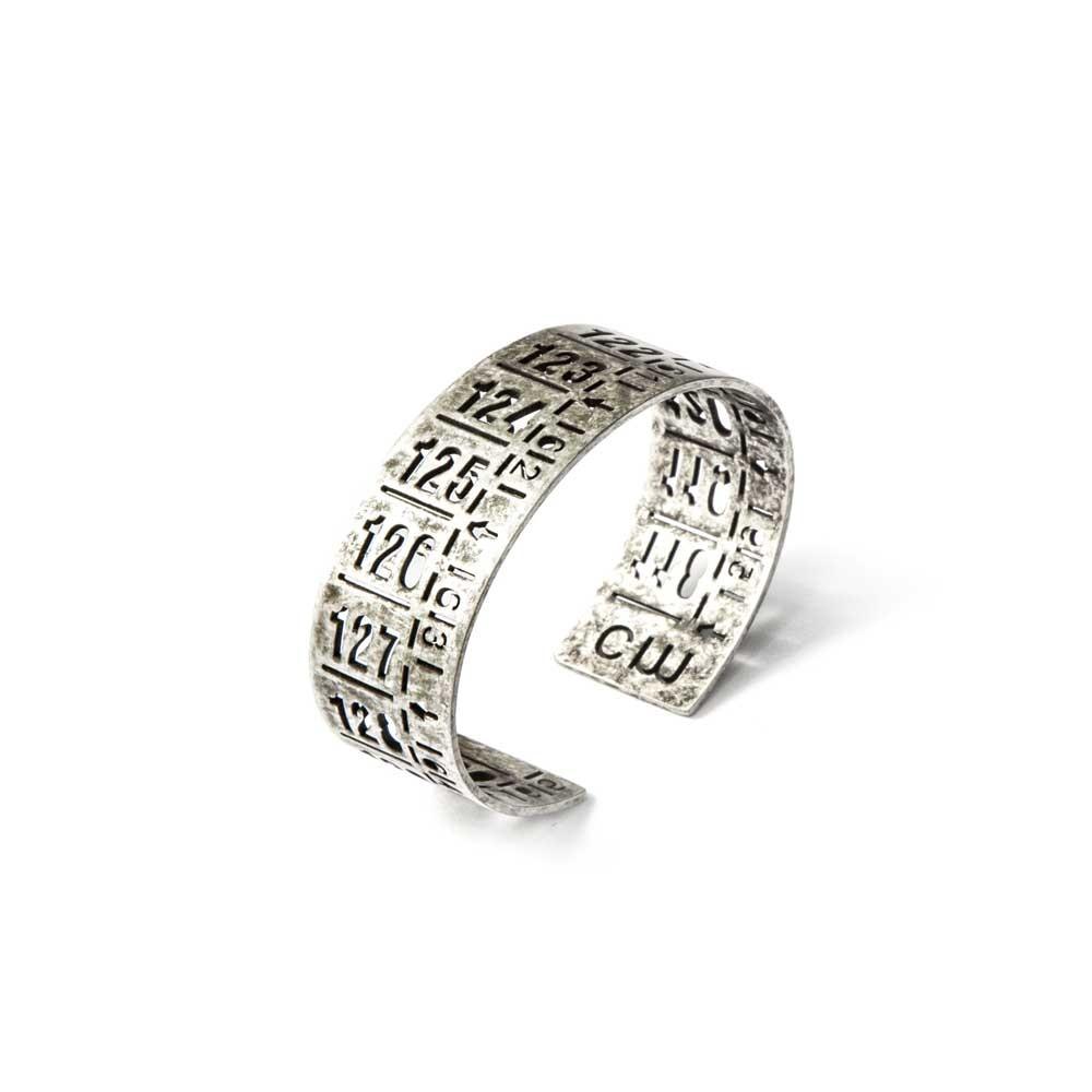 Bracciale in metallo J-Classic old silver