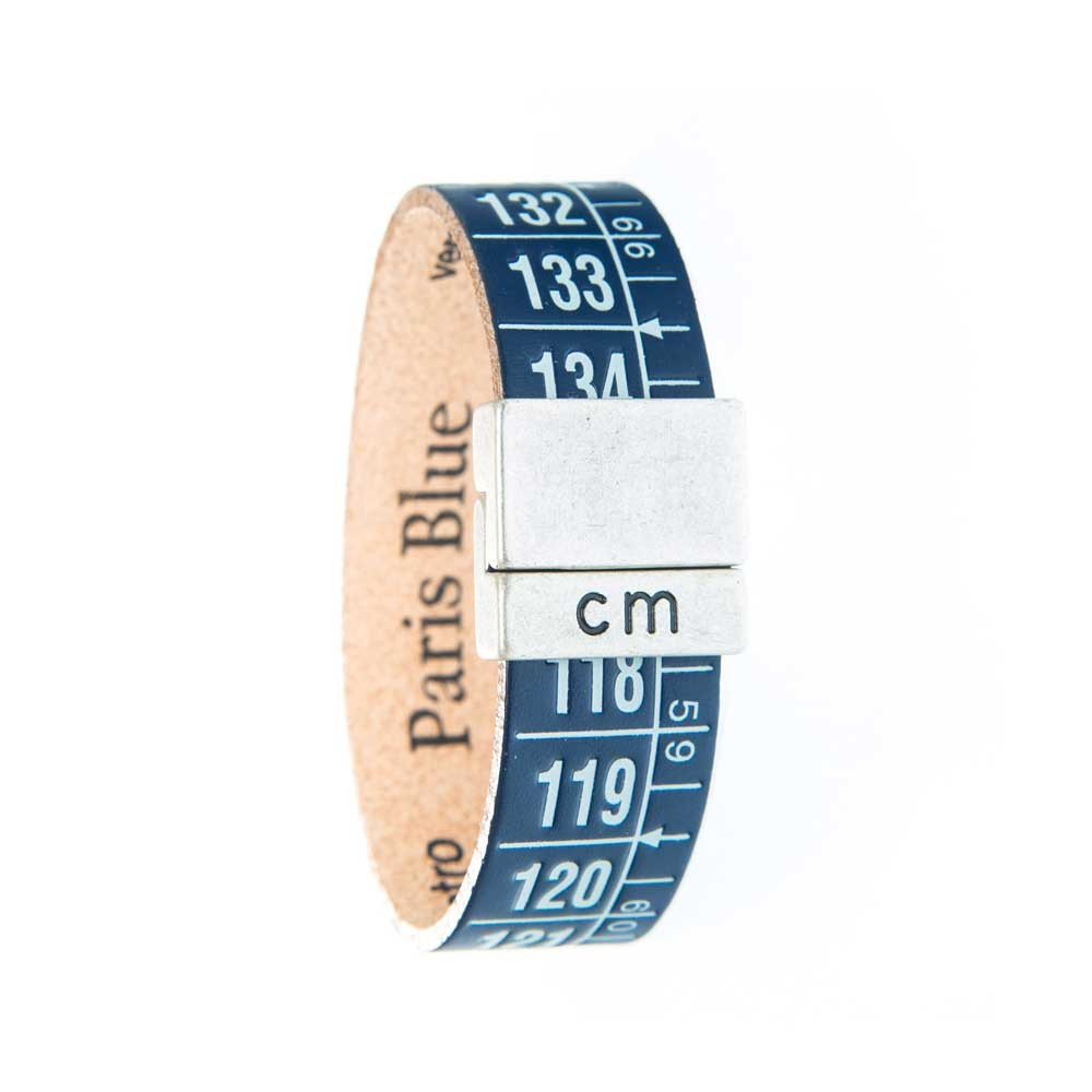 Bracciale in pelle Paris Blue