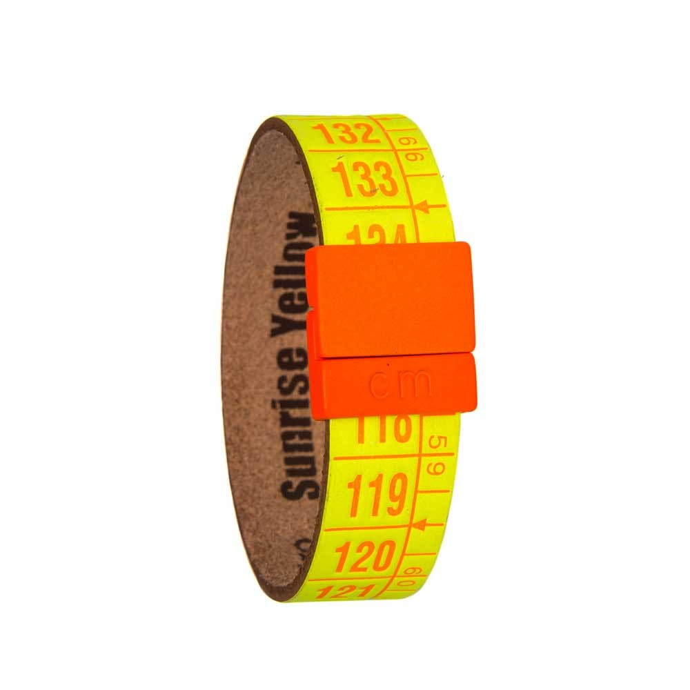 Bracciale in pelle  Sunrise Yellow