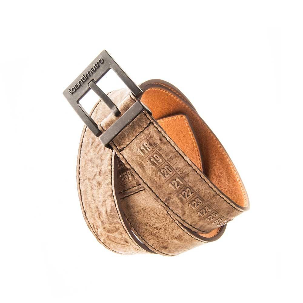 Cintura in pelle OldWest Brown