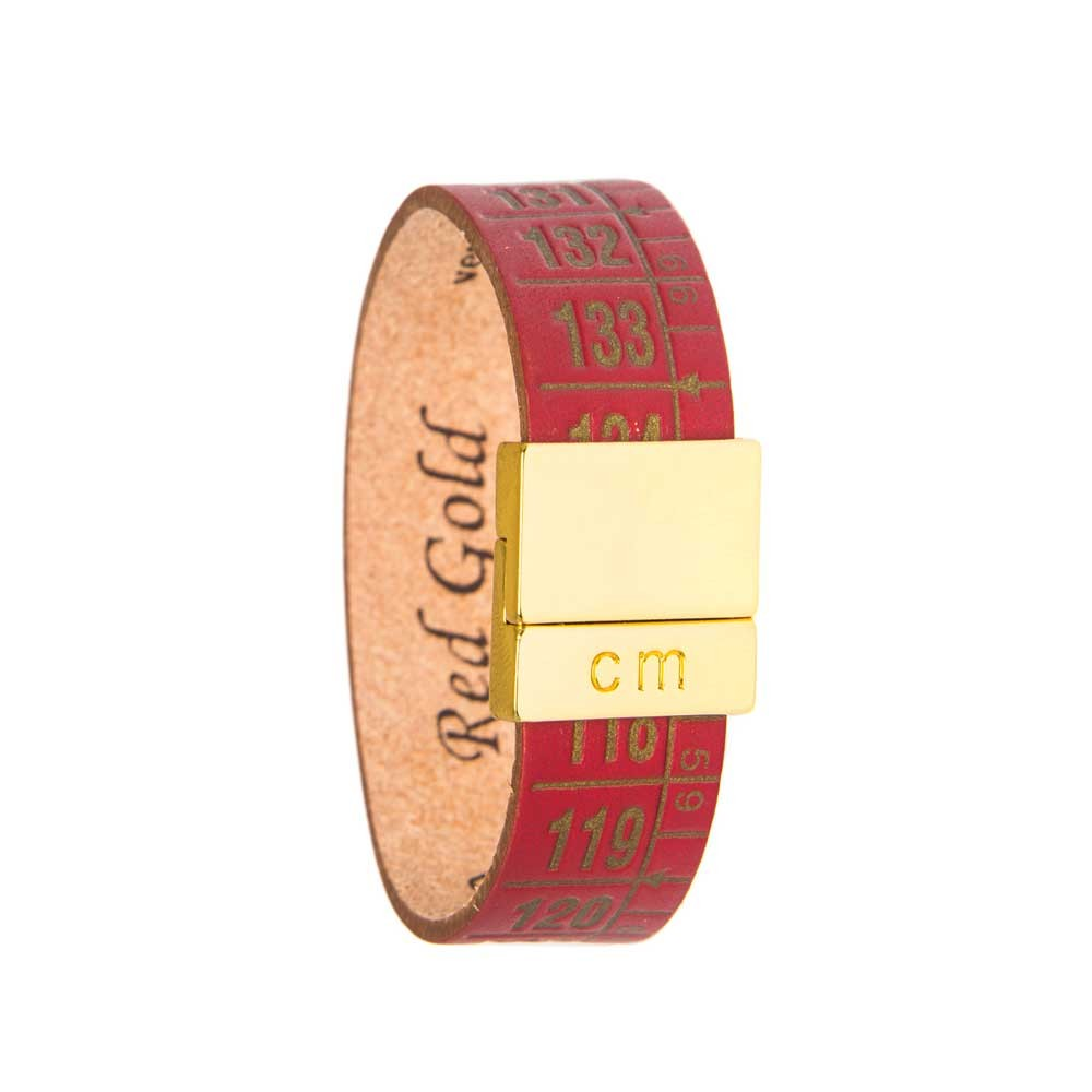 Bracciale in pelle Red Gold