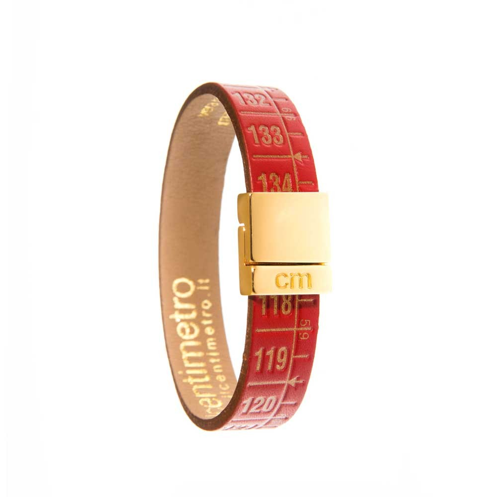 Bracciale in pelle Little Red Gold
