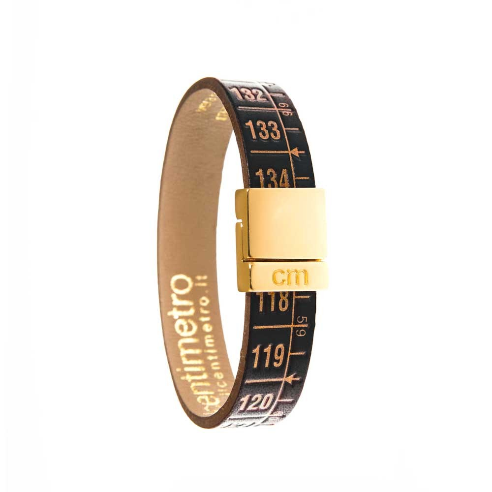 Bracciale in pelle Little Royal Gold