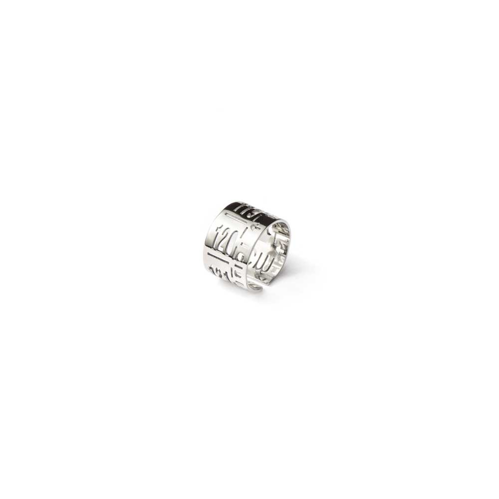 Anello in metallo  J-Ring Palladium