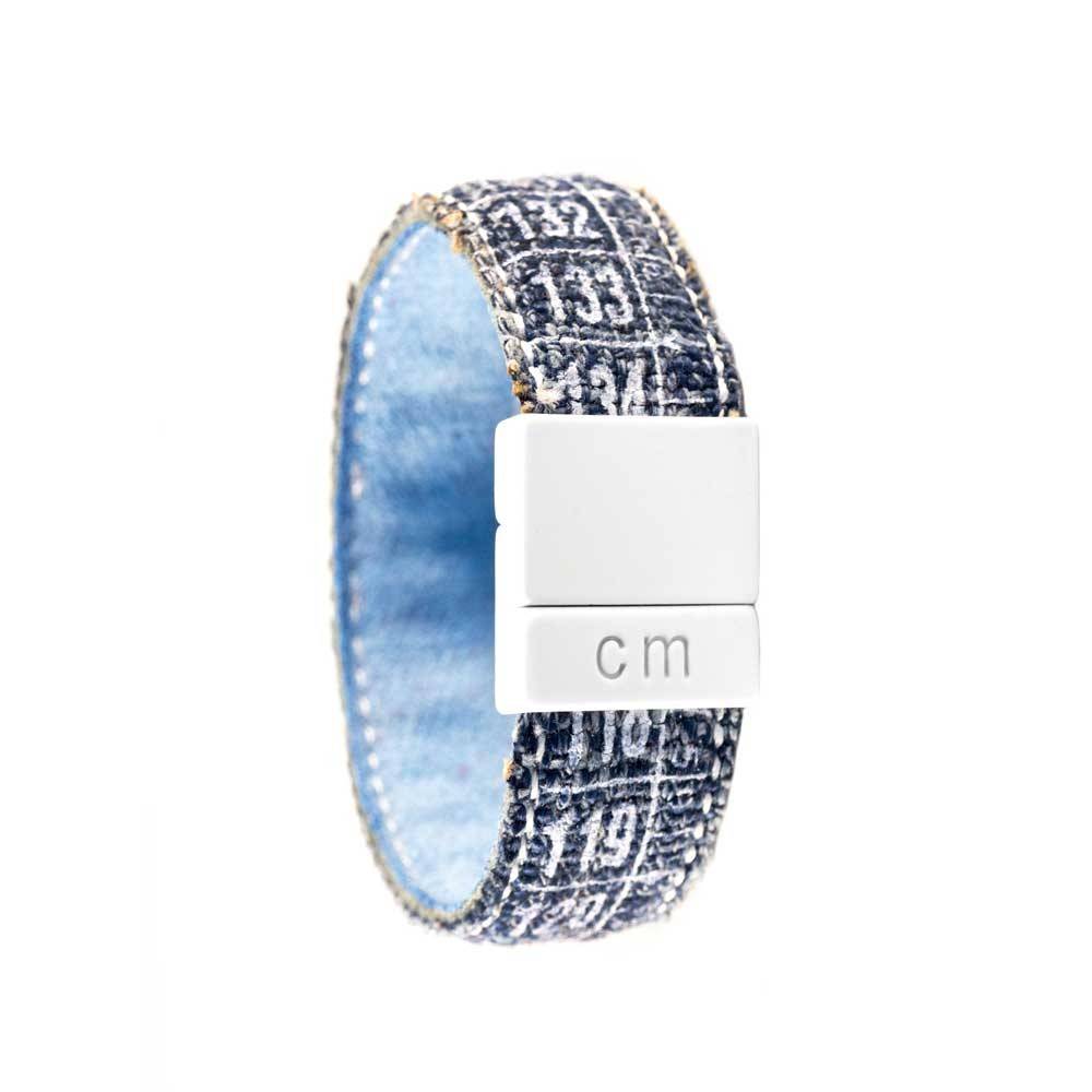 Bracciale in jeans Denim White