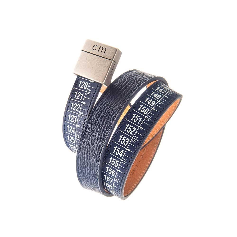 Cintura in pelle Paris Blue