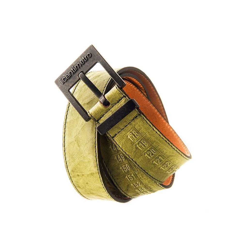 Cintura in pelle  OldWest Green