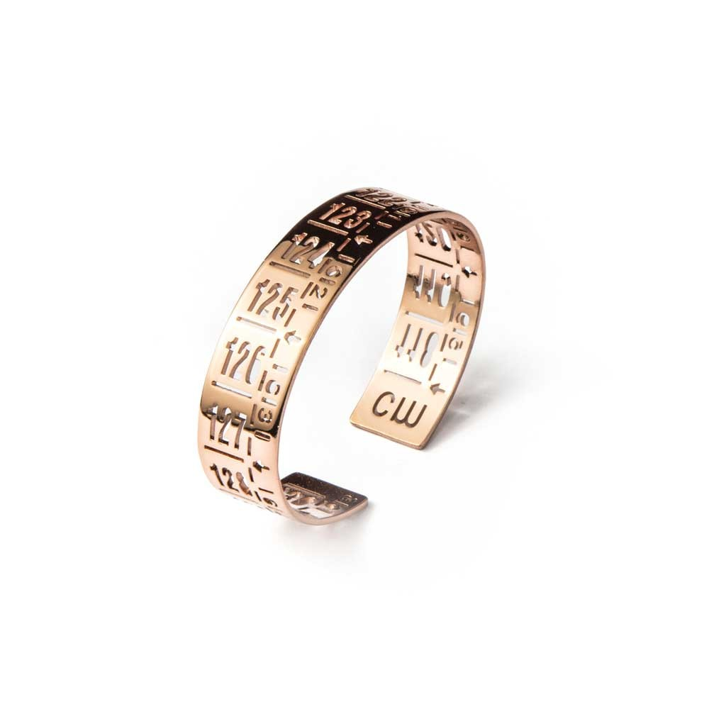 Bracciale in metallo J-Little Rose Gold