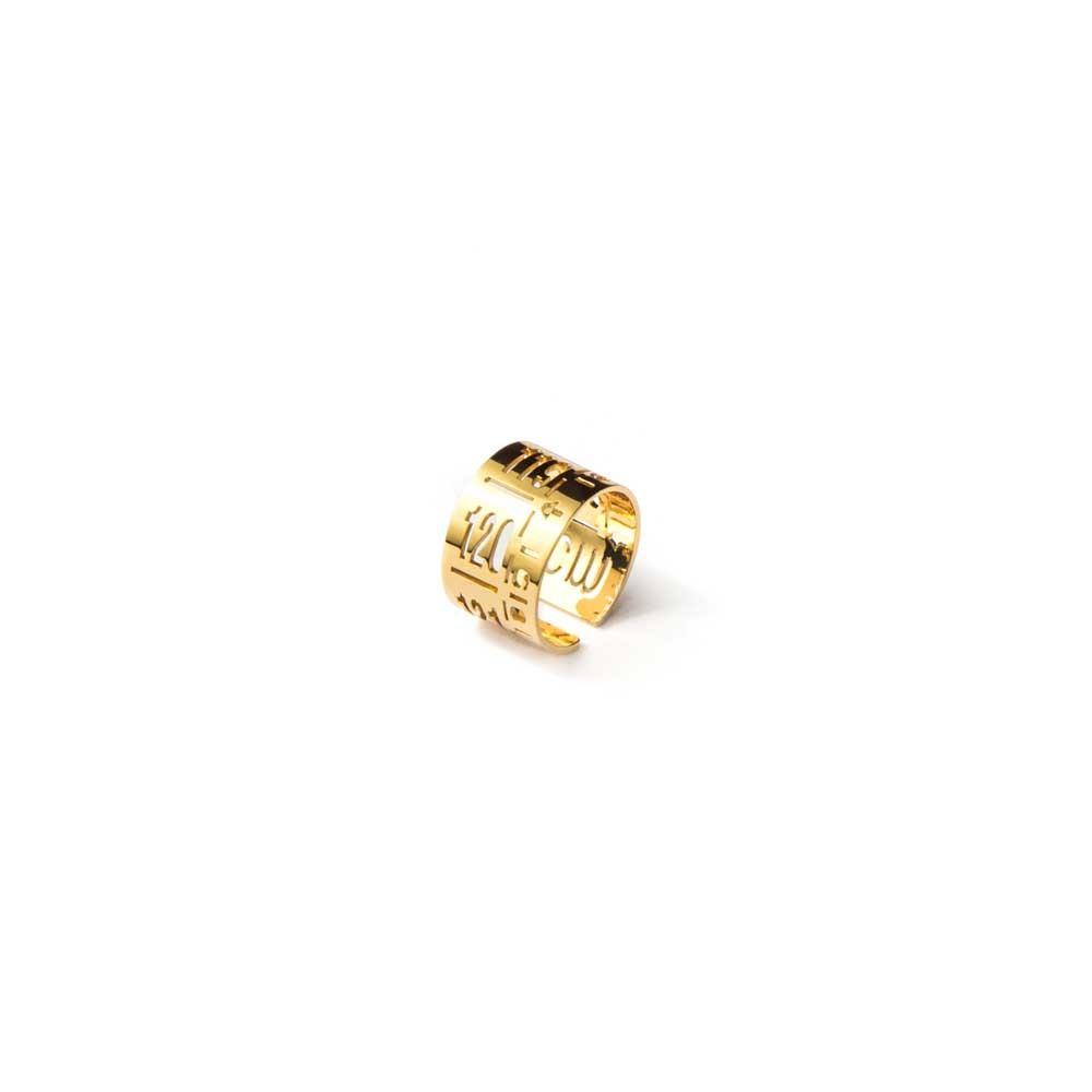Anello in metallo  J-Ring Gold