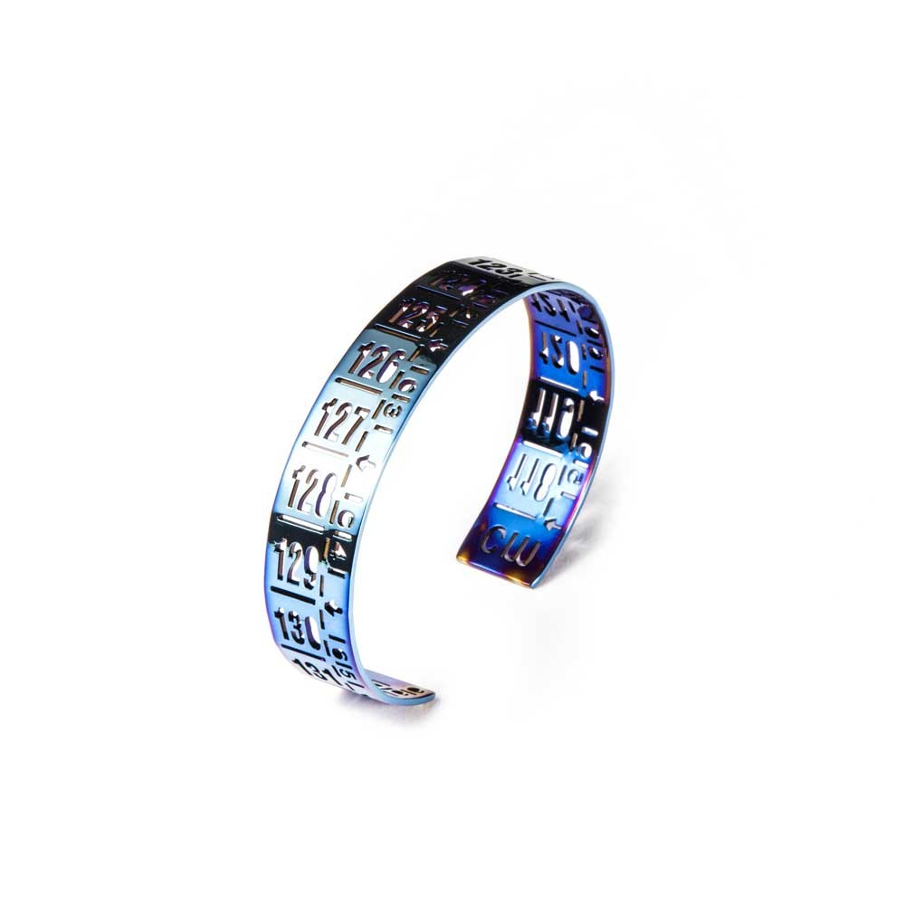 Bracciale in metallo J-Little Flash Blue