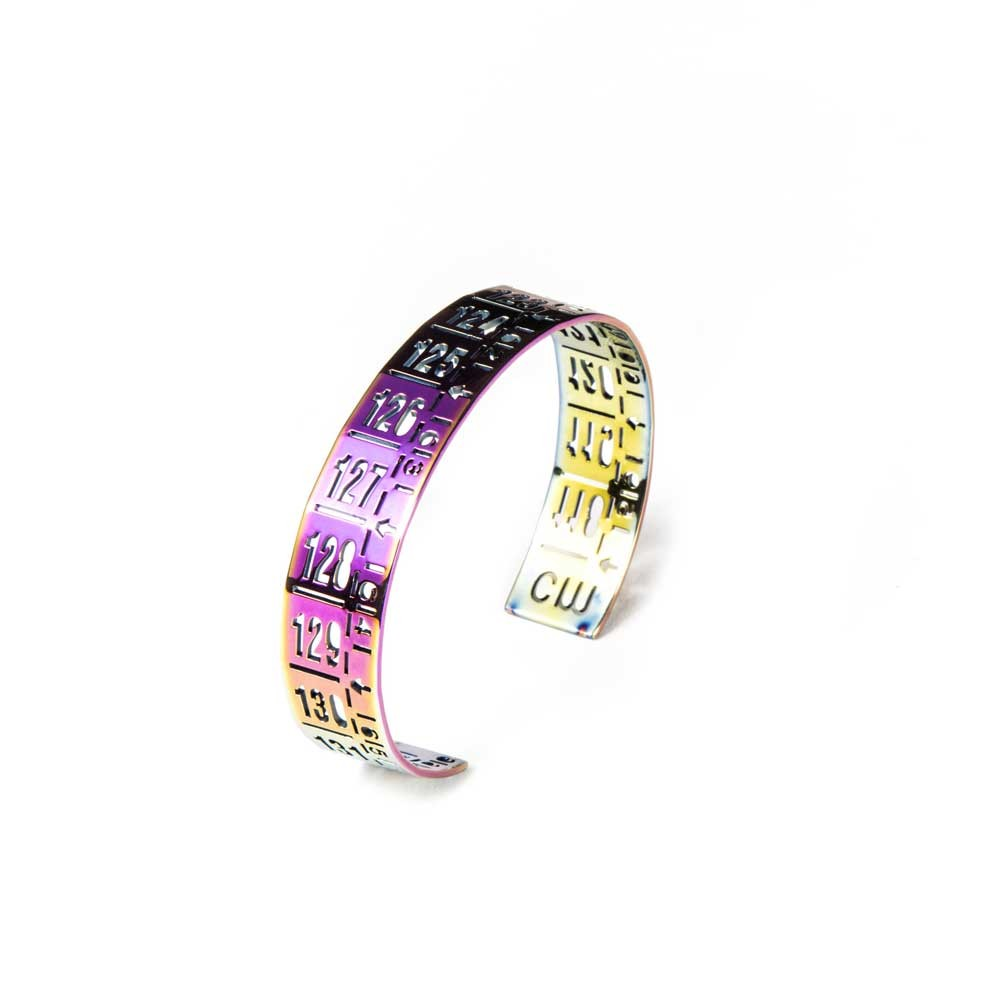 Bracciale in metallo J-Little Flash Magenta
