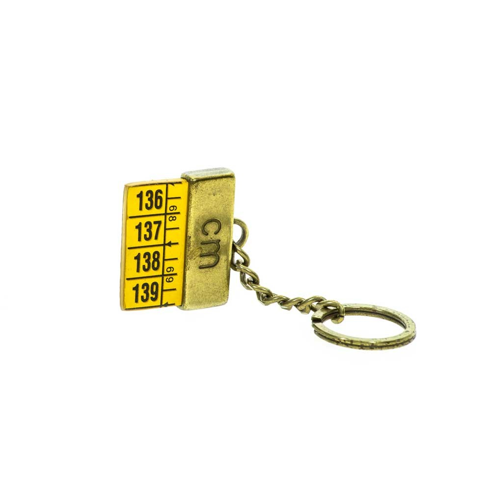 Classic Yellow Keyring