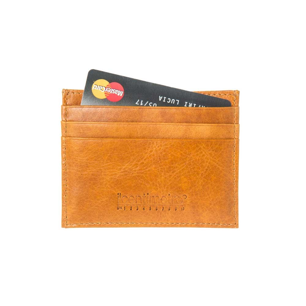 Classic Yellow Cardholder